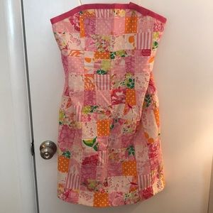 Vintage Lilly Pulitzer Patchwork Dress Size 12